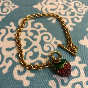 Juicy Couture Strawberry Bracelet